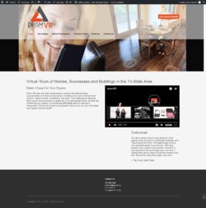 Digital Marketing Screenshot - Prism VR